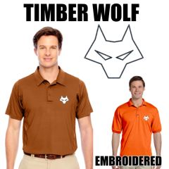TIMBER WOLF Embroidered shirts