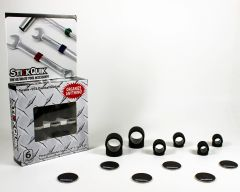 StickQuik™ Three Size Combo Pack - Black