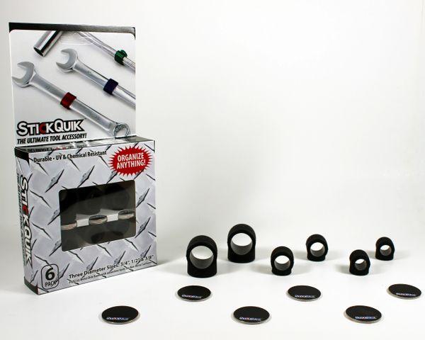StickQuik™ Three Size Combo Pack - Black