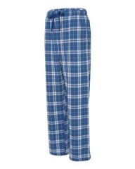 Boxercraft #F20 (Royal/Silver) Flannel Pants with Pockets