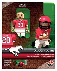 OYO CFL Series 1 Doug Flutie Calgary Stampeders Minifigure