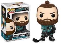Funko Pop! Hockey NHL Vinyl Figure Brent Burnes San Jose Sharks Canadian Exclusive Home Jersey
