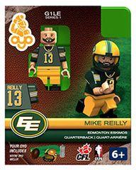 OYO CFL Series 1 Mike Reilly Edmonton Eskimos Minifigure