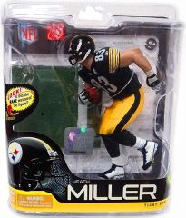 McFarlane NFL Series 27 Heath Miller Pittsburgh Steelers
