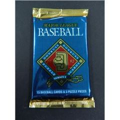 1992 Donruss Series 1 Major League Baseball Cards & Puzzle Pieces