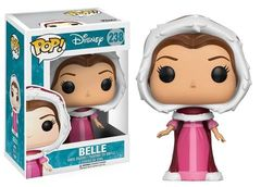 Funko Pop Disney: Beauty and the Beast - Belle (Winter) Vinyl Figure