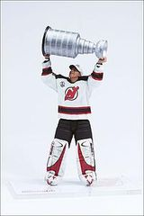 McFarlane NHL Series 9 Martin Brodeur New Jersey Devils with Cup