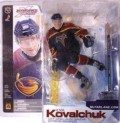 McFarlane NHL Series 4 Ilya Kovalchuk Atlanta Thrashers Logo on Helmet