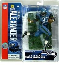 McFarlane NFL Series 14 Shaun Alexander Seattle Seahawks