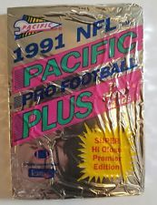 1991 NFL Pacific Pro Football Plus Trading Cards