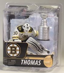 McFarlane NHL Series 29 Tim Thomas Boston Bruins with Cup OPENER