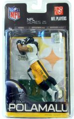 McFarlane NFL Series 25 Troy Polamalu Pittsburgh Steelers