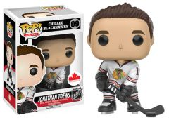 Funko Pop! Hockey NHL Vinyl Figure Jonathan Toews Chicago Blackhawks Canadian Exclusive Away Jersey