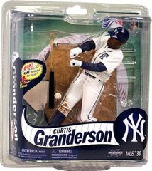 McFarlane MLB Series 30 Curtis Granderson New York Yankees Silver Collector