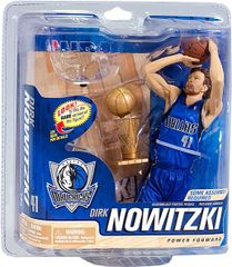 McFarlane NBA Series 21 Dirk Nowitzki Dallas Mavericks with Trophy