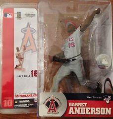 McFarlane MLB Series 10 Garret Anderson Anaheim Angels