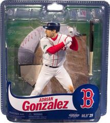 McFarlane MLB Series 29 Adrian Gonzalez Boston Red Sox
