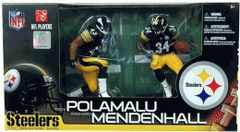 McFarlane NFL 2-pack Troy Polamalu & Rashard Mendenhall Steelers