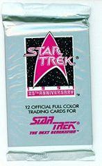 1991 Star Trek The Next Generation 25th Anniversary Trading Cards
