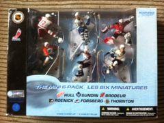 "McFarlane NHL 3"" 6-Pack Hull, Sundin, Brodeur, Roenick, Forsberg & Thornton"