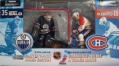McFarlane NHL 2-pack Tommy Salo Oilers/ Saku Koivu Canadiens