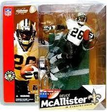 McFarlane NFL Series 6 Deuce McAllister New Orleans Saints