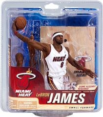 McFarlane NBA Series 21 LeBron James Miami Heat
