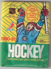 O-Pee-Chee 1990-91 NHL Hockey Cards