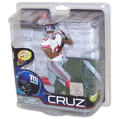 McFarlane NFL Series 31 Victor Cruz New York Giants Collector