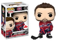 Funko Pop! Hockey NHL Vinyl Figure Shea Weber Montreal Canadiens Canadian Exclusive Home Jersey