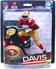 McFarlane NFL Series 32 Vernon Davis San Francisco 49ers Sports Picks Debut