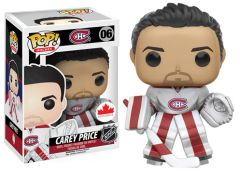 Funko Pop! Hockey NHL Vinyl Figure Carey Price Montreal Canadiens Canadian Exclusive Away Jersey