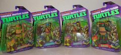 Nickelodeon TMNT Battle Shell Figures Set of 4