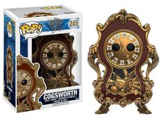 Funko Pop! Disney: Beauty & The Beast - Cogsworth #245