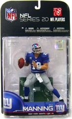 McFarlane NFL Series 20 Eli Manning NY Giants