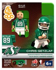 OYO CFL Series 2 Chris Getzlaf Saskatchewan Roughriders Minifigure