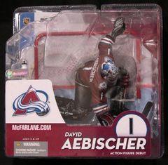 McFarlane NHL Series 10 David Aebischer Maroon OPENER