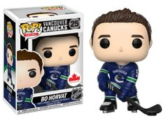 Funko Pop! Hockey NHL Vinyl Figure Bo Horvat Vancouver Canucks Canadian Exclusive Home Jersey
