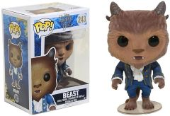 Funko Pop! Disney: Beauty & The Beast - Beast #243 (slight top indent)