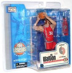 McFarlane NBA Series Legends 1 Bill Walton Portland Trailblazers