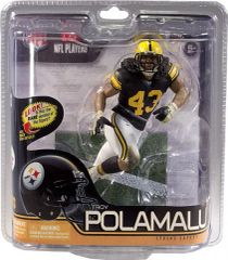 McFarlane NFL Series 29 Troy Polamalu Pittsburgh Steelers Retro Chase