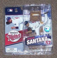 McFarlane MLB Series 15 Johan Santana Minnesota Twins OPENER