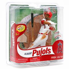 McFarlane MLB Series 30 Albert Pujols Anaheim Angels Variant