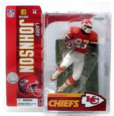 McFarlane NFL Series 14 Larry Johnson Kansas City Chiefs