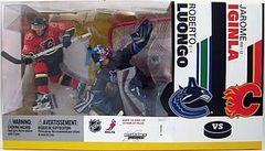 McFarlane NHL 2-pack Roberto Luongo Canucks/Jarome Iginla Flames