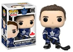 Funko Pop! Hockey NHL Vinyl Figure Auston Matthews Toronto Maple Leafs Canadian Exclusive Home Jersey