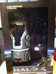 McFarlane Halo 4 Series 1 Box Set: UNSC Cryotube with Master Chief