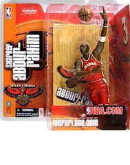 McFarlane NBA Series 5 Shareef Abdur-Rahim Atlanta Hawks