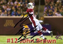 John Brown - 5x7 Autograph