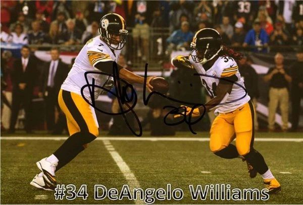 DeAngelo Williams - 5x7 Autograph